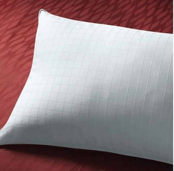 Sobella pillow for side sleepers