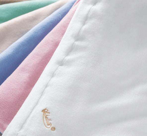 Sobel Westex Sobellux Fleece blankets in a variety of colors