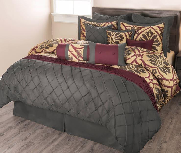 Sobel Westex Vino Rosso luxury comforter set