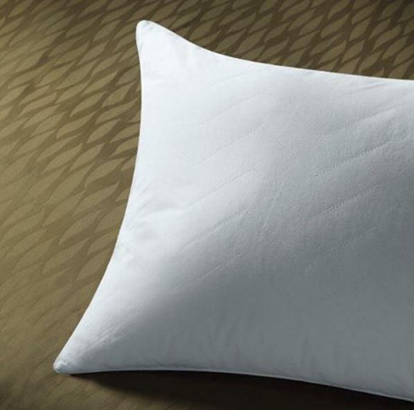 Sobel Westex sahara nights pillow on green bedspread